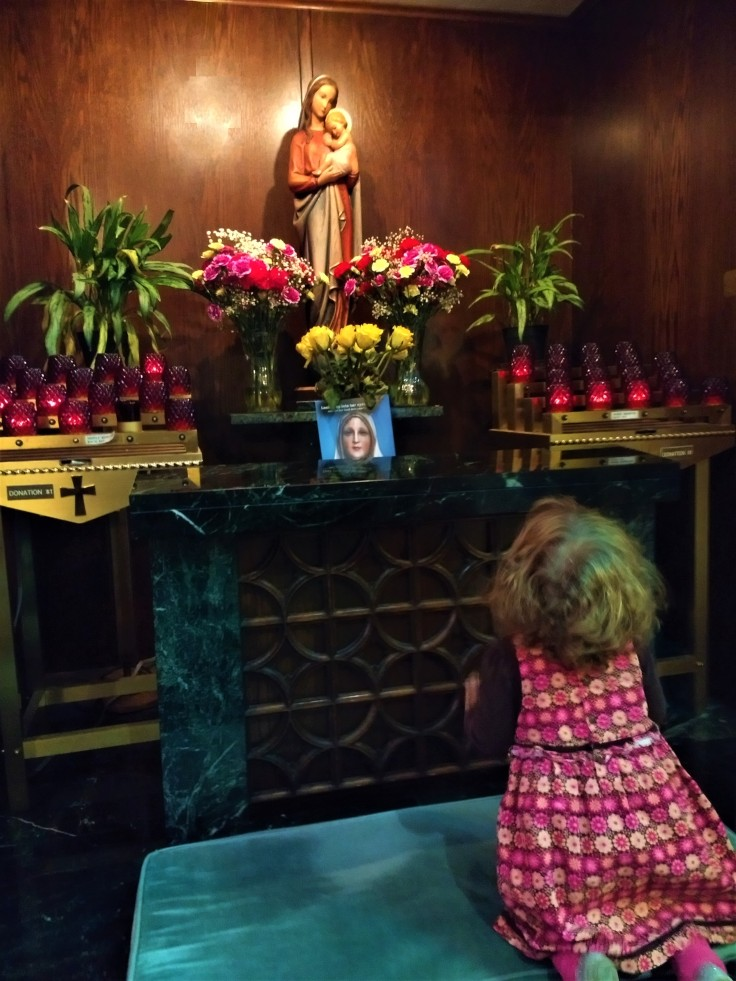 Colette praying